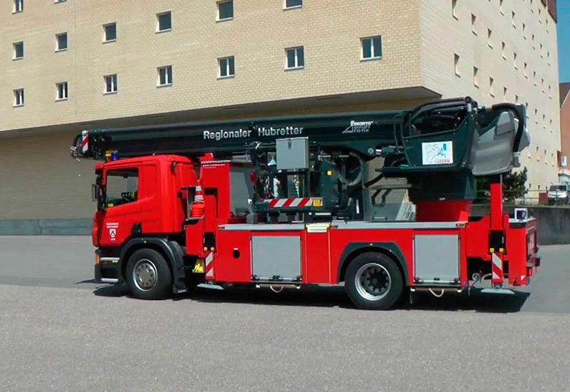 Einweihung Hubretter Feuerwehr Hochdorf